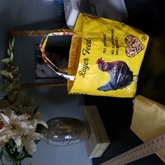 feed bag tote