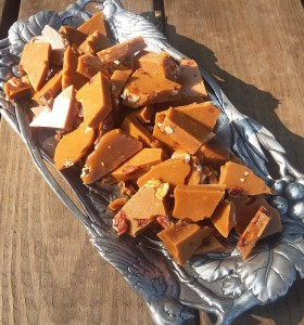 Homemade Pecan Toffee